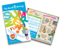 Summer Flier with Activities